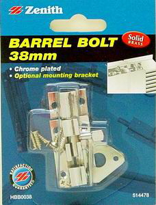 AUXILIARY LOCKS &amp BOLTS (25)